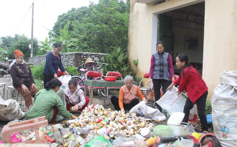 Hiệu quả mô hình thu gom đồng phế liệu tại thị trấn Thanh Hà